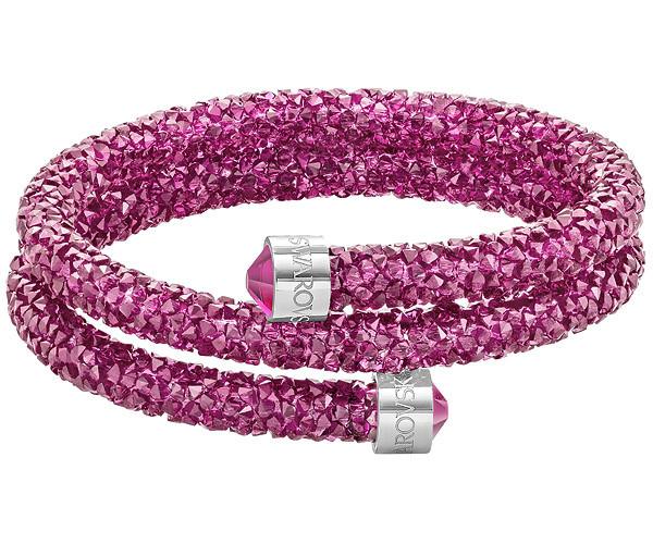 Swarovski-Crystaldust-Double-Bangle-Pink-5273643-W600