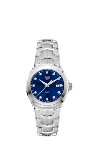 TAG Heuer_LINK LADY_BLUE DIAL (5)
