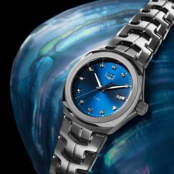 TAG Heuer_LINK LADY_BLUE DIAL (6)